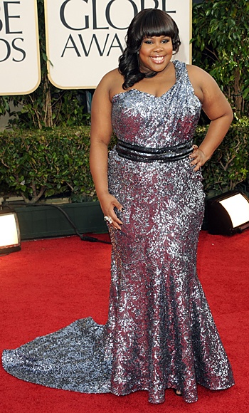 Golden Globes - Amber Riley - Glee