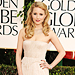 Dianna Agron - J. Mendel - Ferragamo - Cathy Waterman - Golden Globes 2011