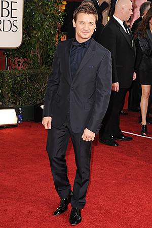 Jeremy Renner Golden Globes