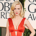 January Jones' Golden Globes Dress: The Original Color
