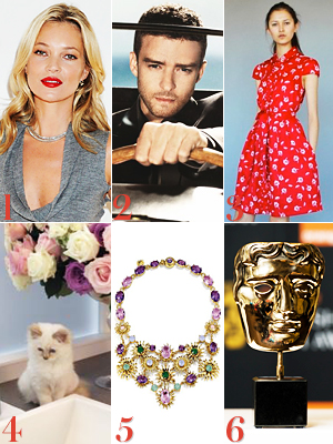 Kate Moss, Justin Timberlake