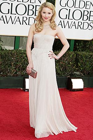 Dianna Agron Golden Globes