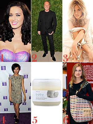Katy Perry Michael Kors Annalynne Mccord Bria Murphy Lauren Bush