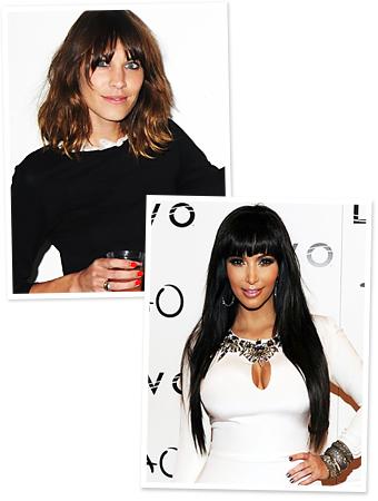 Kim Kardashian, Alexa Chung