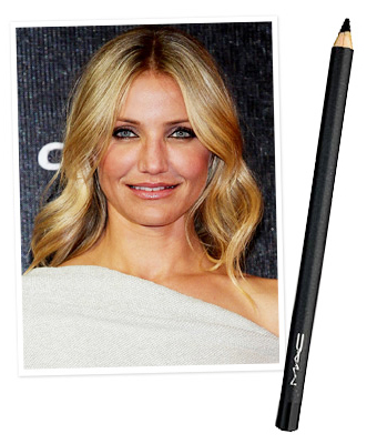 Cameron Diaz, smoky eye