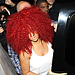 Rihannas New Hair: Poufy, Red and Big!