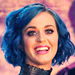 Katy Perry's Hair Is Blue Now!