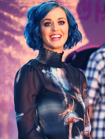 Katy Perry Blue Hair Costume Ideas