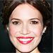 Found It! Mandy Moore's Glossy Red Lipstick