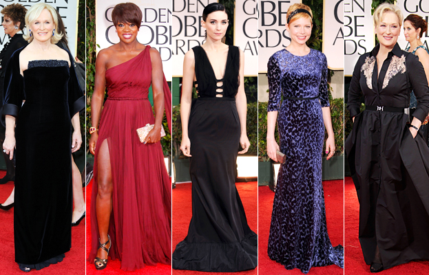 Glenn Close, Viola Davis, Rooney Mara, Michelle Williams, Meryl Streep