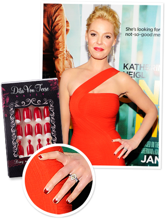 Katherine Heigl Nails