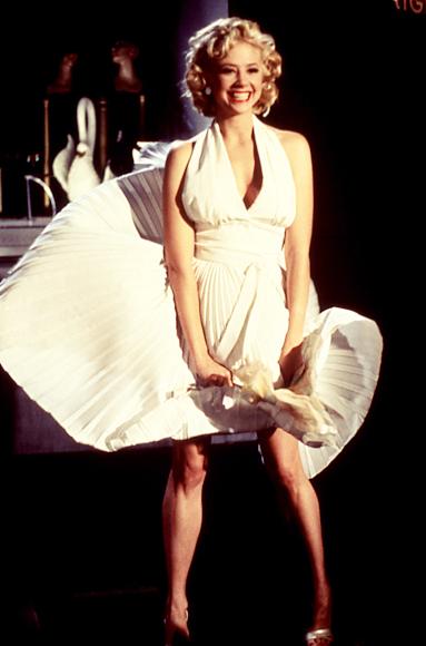 Mira Sorvino as marilyn monroe