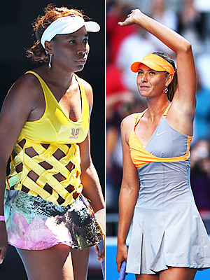 Venus Williams Maria Sharapova