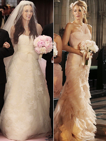 Gossip Girl Wedding Leighton Meester Blake Lively Courtesy of The CW