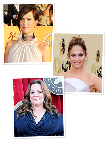 Oscars 2012, Jennifer Lopez, Kristen Wiig