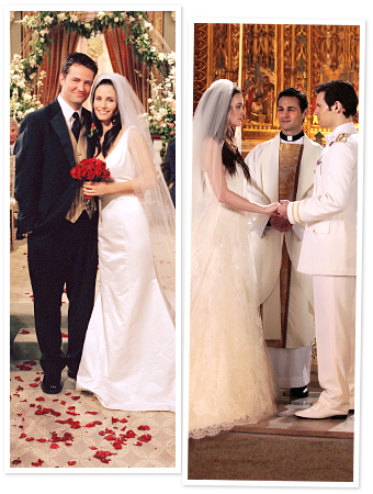 TV Brides, Gossip Girl Wedding, Friends