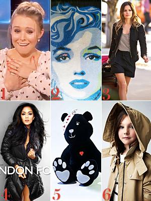 Kristen Bell, Marilyn Monroe, Rachel Bilson