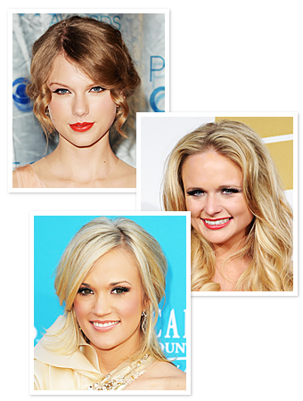 Taylor Swift Miranda Lambert Carrie Underwood