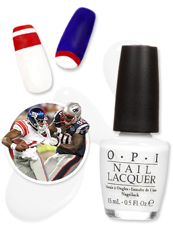 Super Bowl Manicure Ideas