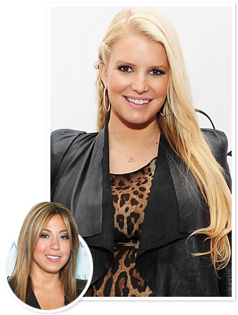Jessica Simpson Hair Color