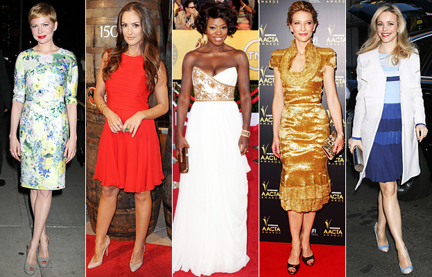 Michelle Williams, Minka Kelly, Viola Davis, Cate Blanchett, Rachel McAdams
