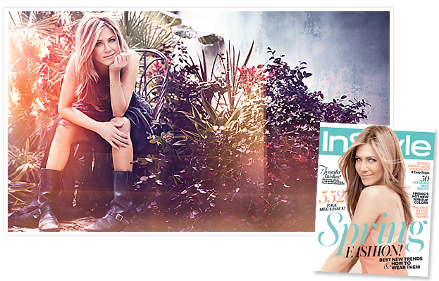 Cover Story Jennifer Aniston InStyle