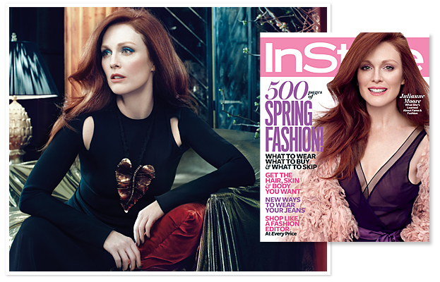 Julianne Moore InStyle
