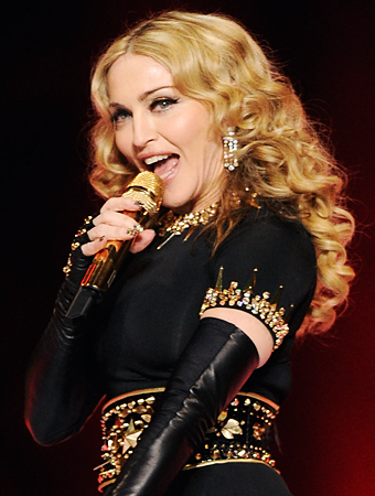 Madonna Super BowlHair