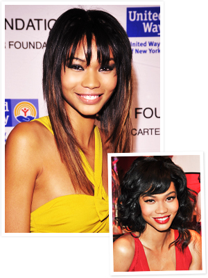 Chanel Iman Haircut