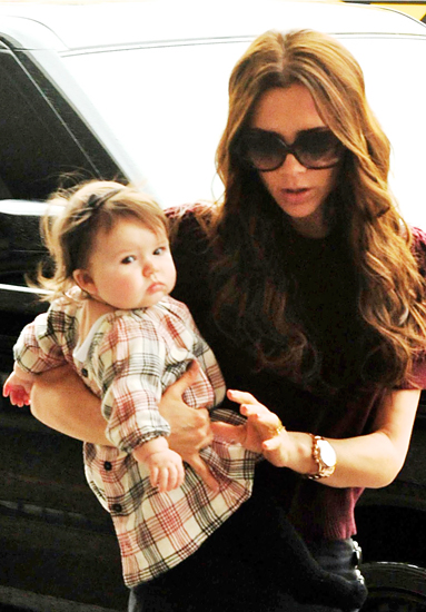 Victoria Beckham and daughter Harper Seven Beckham