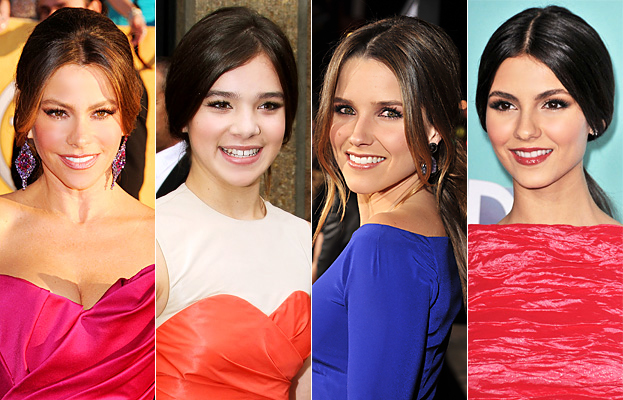 Low Ponytails - Hollywood Hair Trend