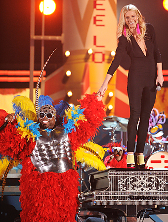 Grammys, Gwyneth Paltrow, Cee Lo