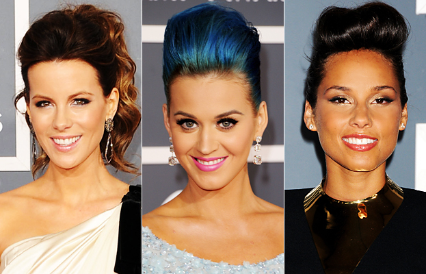 Grammy Beauty Trend - Pompadour - Hair