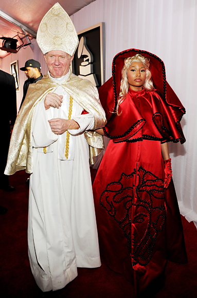 021212 grammys nicki minaj 383 Grammys Gone Bad: What Were They Thinking?