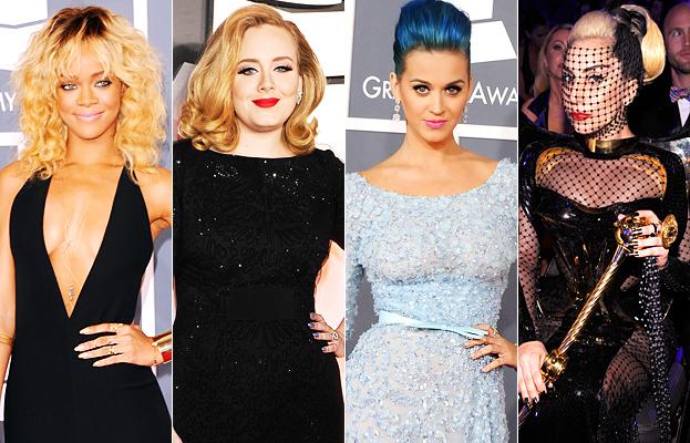 Grammys 2012 - Manicures