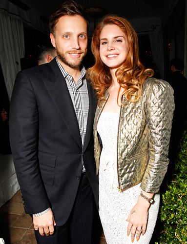Ariel Foxman and Lana Del Ray