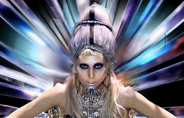 lady gaga born this way video skeleton. Born This Way Courtesy Photo