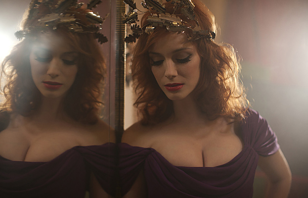 Christina Hendricks for Vivienne Westwood