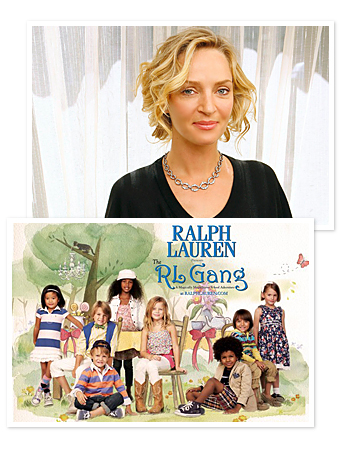 Uma Thurman Narrates Ralph Lauren's Storybook
