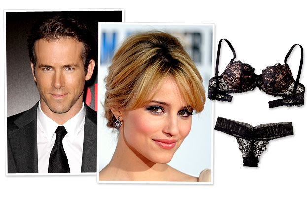 Ryan Reynolds, Dianna Agron 