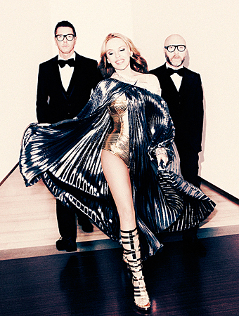 Kylie Minogue in Dolce and Gabbana