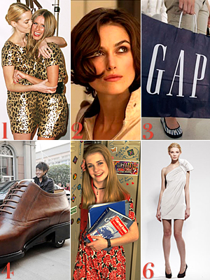 Nicky Hilton, Jaime King, Gap, Marchesa, Priscilla of Boston