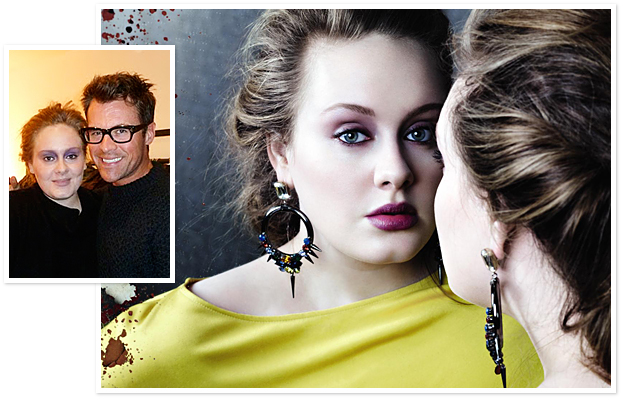 Brad Goreski, Adele