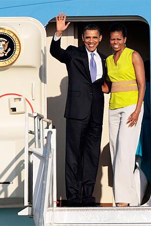 Michelle Obama South America