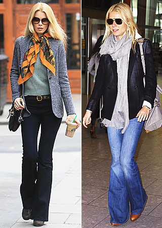 Claudia Schiffer, Gwyneth Paltrow