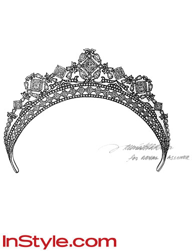 Wedding Frog Kate Middleton S Tiara Jewelry Designers