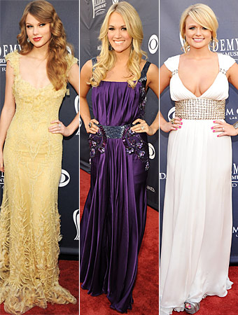 Taylor Swift, Carrie Underwood, Miranda Lambert