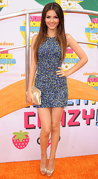 Victoria Justice, 2011 Kids' Choice Awards