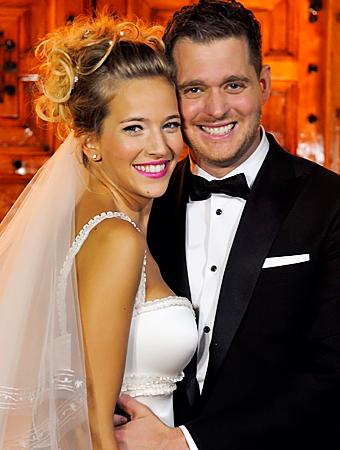 Michael Buble Wedding