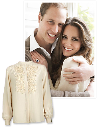 Kate Middleton Blouse